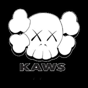 KAWSロゴ